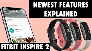Fitbit Inspire 2 New Features