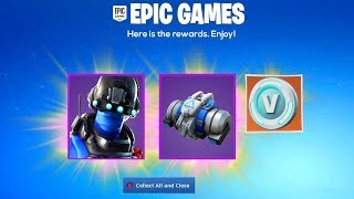 THE FREE SKIN ITEMS NOW IN FORTNITE..