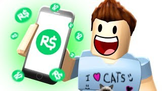 HOW TO GET FREE ROBUX... I'm not even kidding thumbnail