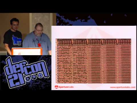 [DEFCON 21] Decapping Chips the [Easy] Hard Way