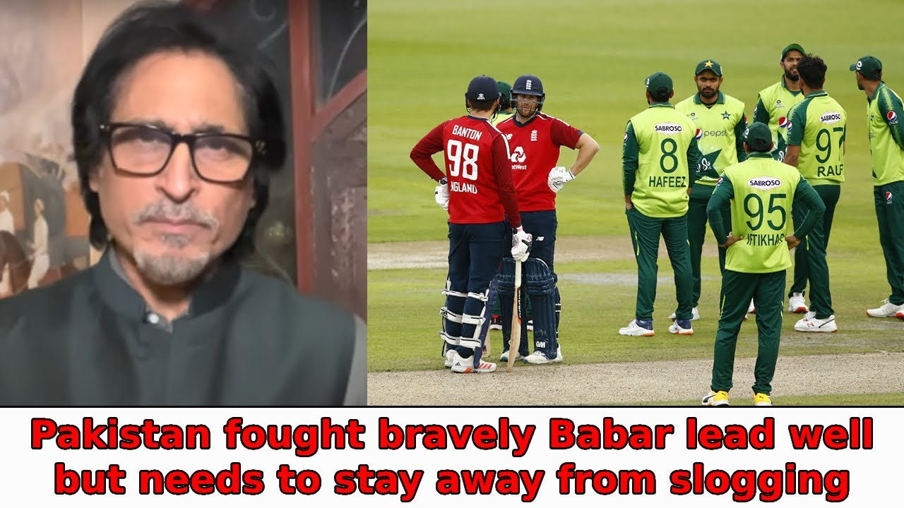 Pakistan fought bravely | Babar lead well but needs to stay away from slogging
