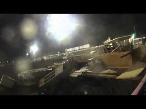 Heart of Texas Speedway 2015 Demolition Trailer Race!