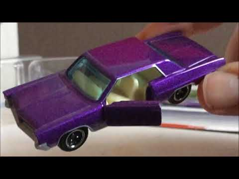Matchbox '64 Pontiac Grand Prix with Opening Doors Diecast Review