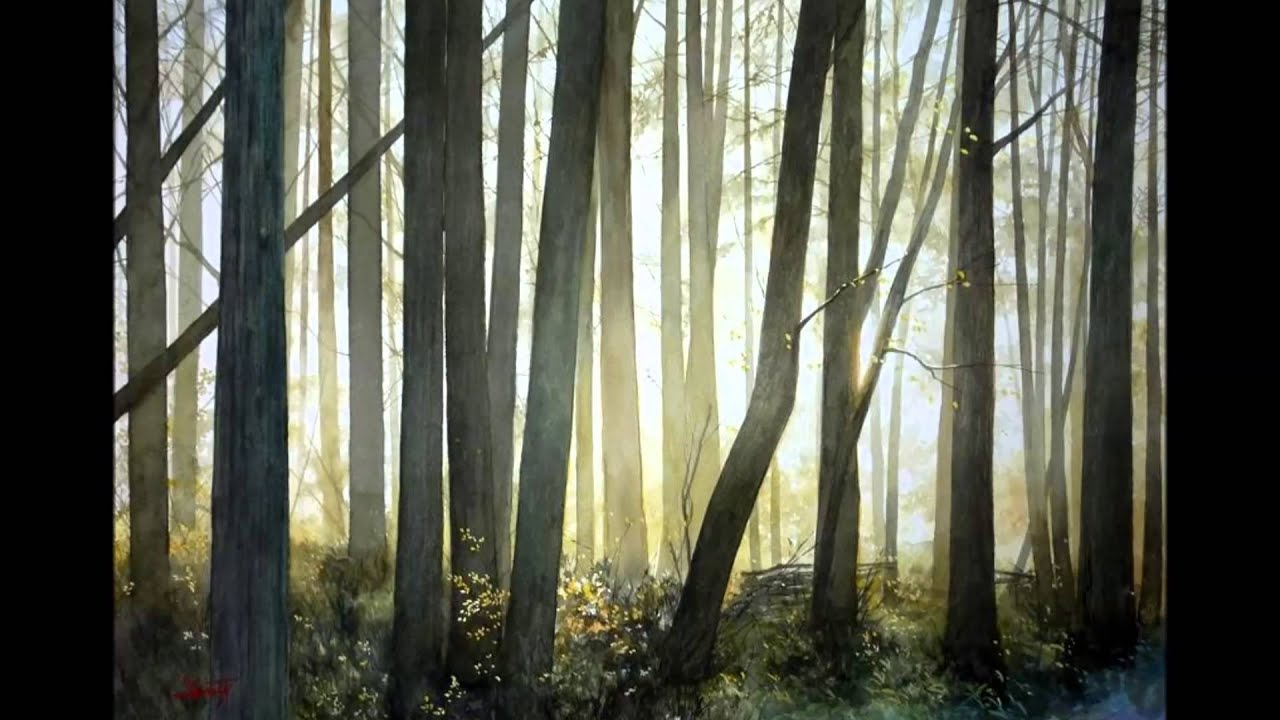 Beautiful watercolors by Abe Toshiyuki