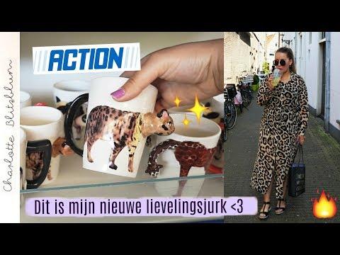 MEE DE ACTION IN & dé perfecte jurk gevonden! | WEEKVLOG #28 | Charlotte Blitzblum