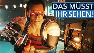 Ist euch Cyberpunk 2077 auf der PS4 hübsch genug? - Trailer-Rotation