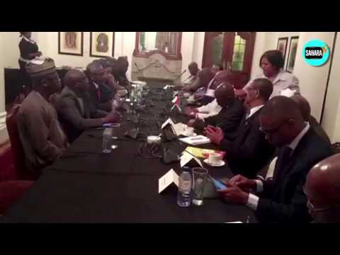 Nigeria's House Of Representatives Delegation To South Africa Meeting On Xenophobic Attacks