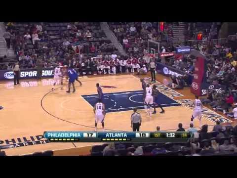 Philadelphia 76ers vs Atlanta Hawks - March 6, 2013