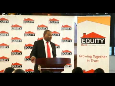Equity Bank Group Investors Briefing and Release of 2013 Fin