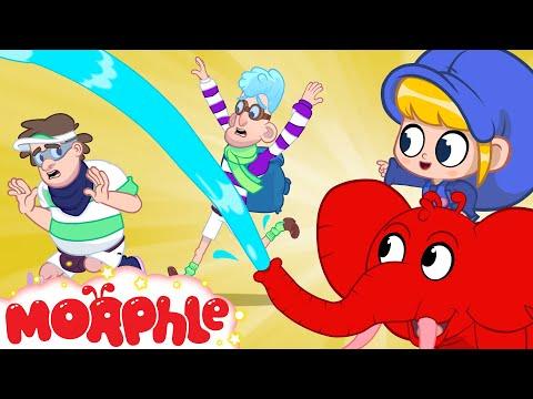 Desert Water Fight - Mila and Morphle | Cartoons for Kids | My Magic Pet Morphle