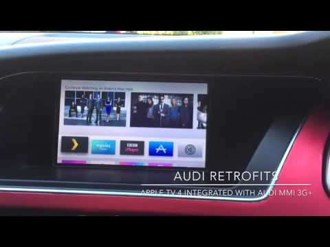 Apple TV 4 Installed Into An Audi A5 MMI 3G+