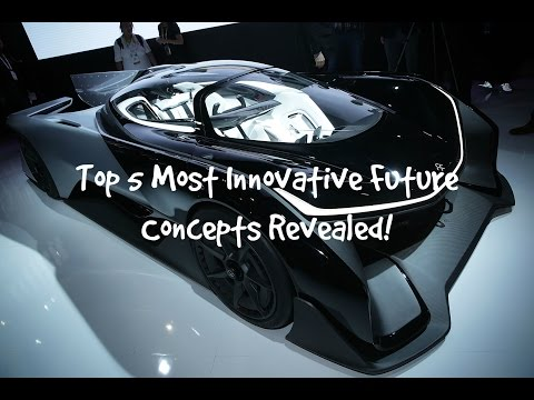 The Top 5 Most Innovative Concepts Revealed 2017-2018!