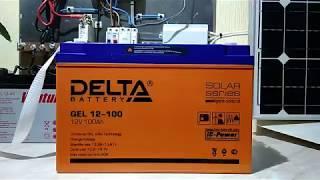 Видео-обзор аккумуляторной батареи DeltaGEL