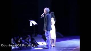 Michael Bolton duet with Putri Ayu IMB, The Prayer Video