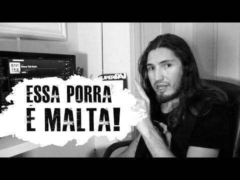 Essa porra é Malta! | HEAVY TALK RADIO | Agosto de 2017