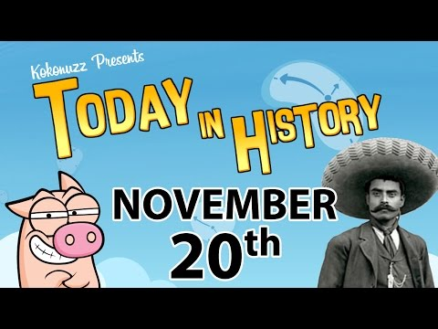 TIH: Mexican revolution & Microsoft Windows 1.0 (November 20 in History)