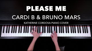 Cardi B & Bruno Mars - Please Me (HQ piano cover)