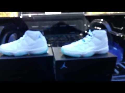 "Air Jordan 11 ""Legend Blue"" Retail vs Unauthorized"