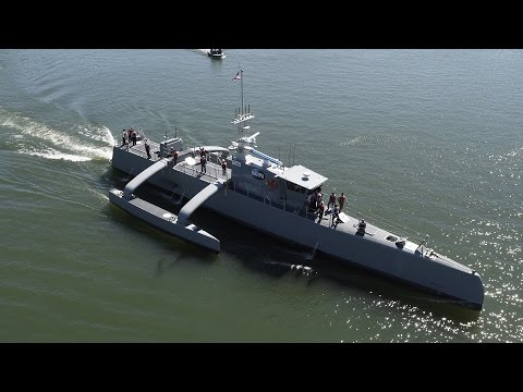 Meet 'Sea Hunter', The World's Largest Unmanned Ship
