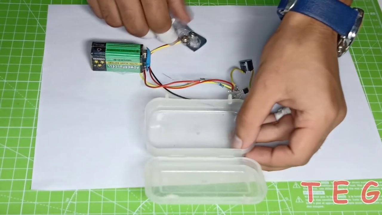 Rain Sensor using Transistor| Highly sensitive Circuit ...