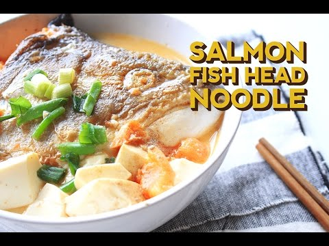 How to make salmon fish head soup happeabites for How to make fish soup