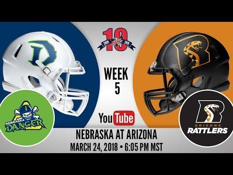 Week 5 | Nebraska Danger at Arizona Rattlers