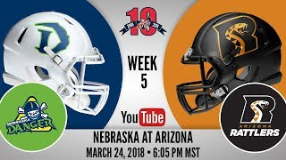 Week 5 | Nebraska Danger at Arizona Rattlers