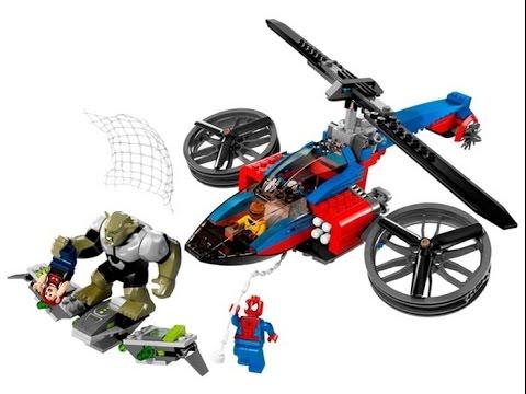 Lego marvel l 39 homme araign e jouets pour enfants lego jouet spiderman jouets youtube - Araignee rouge dangereux pour l homme ...