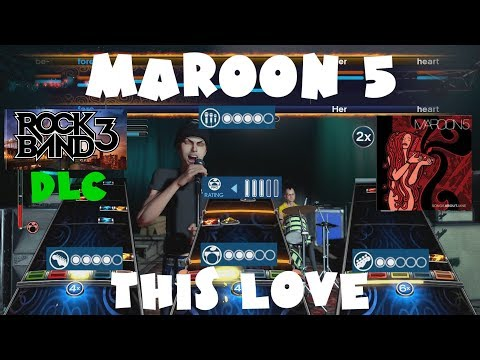 Maroon 5 - This Love - Rock Band 3 DLC Expert Full Band (June 21st, 2011)