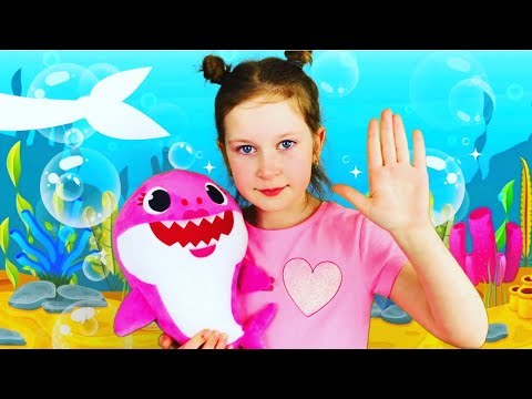 baby-shark-song-and-dance-challenge-|-nursery-song-by-sisters-play