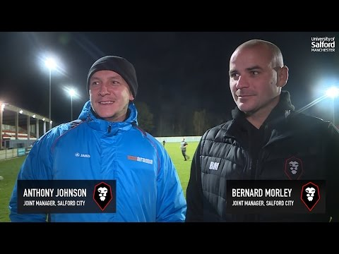 Salford City 3-0 Worcester City - Jonno & Bern post match interview
