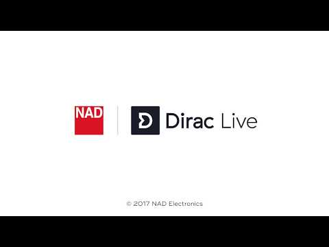 Dirac Live On NAD :: How To Setup For Room Correction