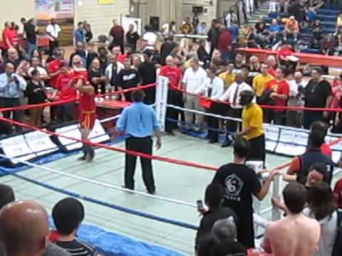 Sanshou And Wing Chun At The 2013 Open Martial Arts Competition - Round 1