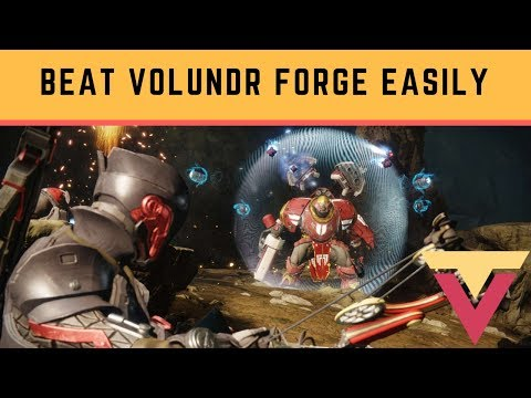 Easiest Way to Clear Volundr Forge and Boss