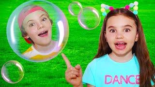 Bubbles song | 동요와 아이 노래 | 어린이 교육 | Polina Fun