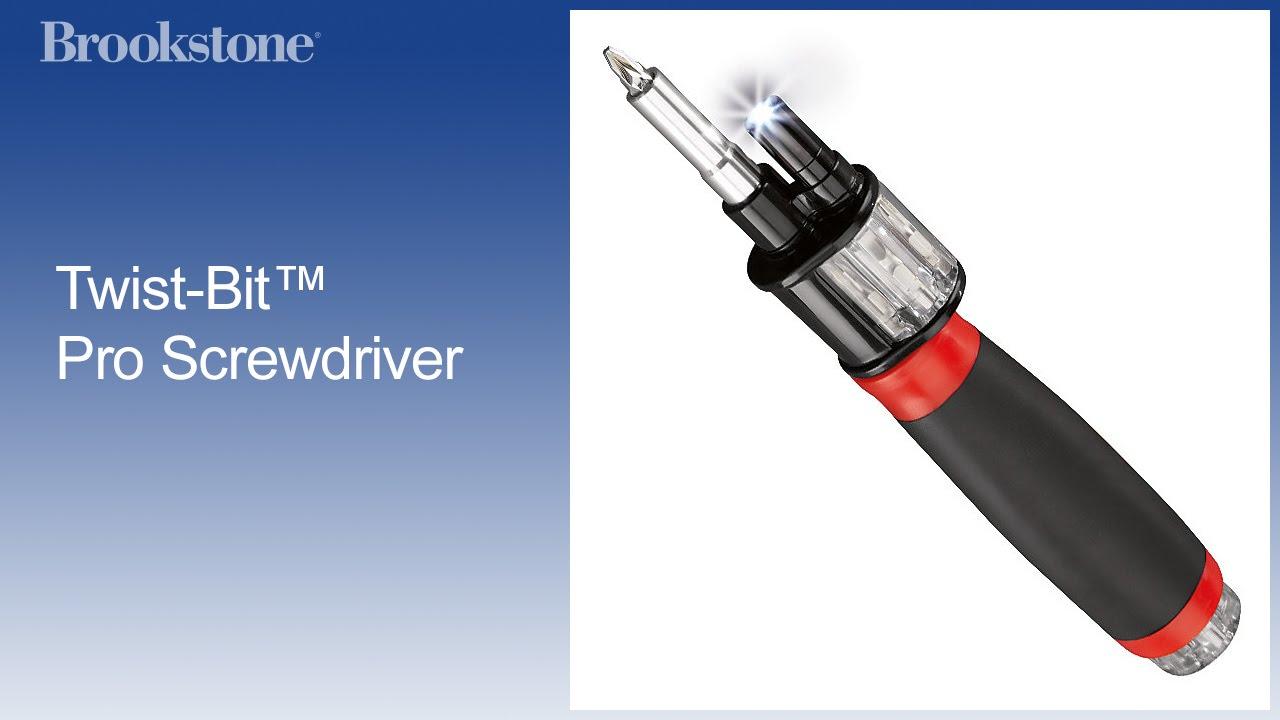 Twist-Bit™ Pro Screwdriver - YouTube