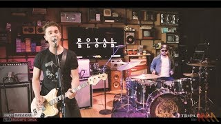 Royal Blood - I Only Lie When I Love You   Live From Eddie's Desk!   The Hot Breakfast