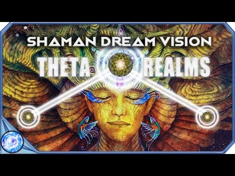 Shaman Dream Vision - 4.12 Hz Binaural Beats Meditation - Deep Trip / Theta Waves Music