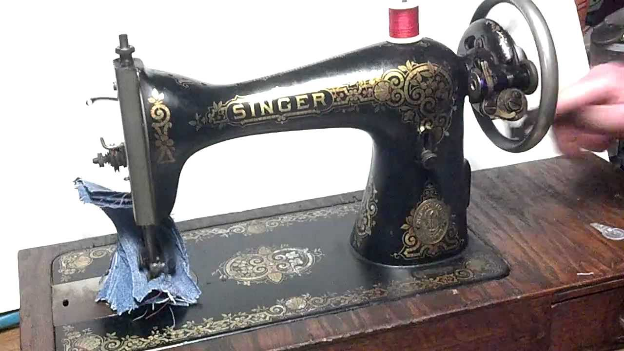 singer treadle sewing machine serial numbers