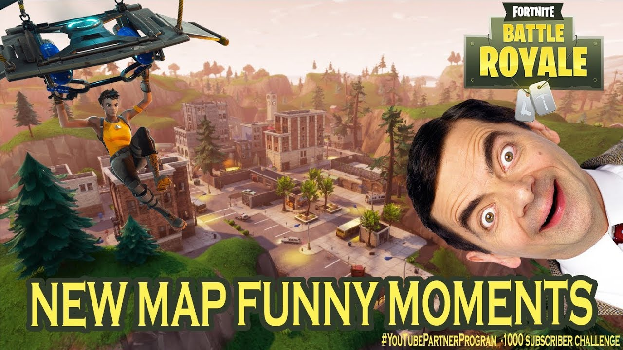 Fortnite Battle Royal Funny Moments New Map 2 Spaget Memes Fun