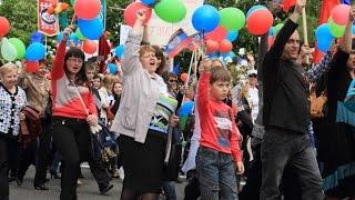 День Республики  Донецк, 11 мая 2015 года