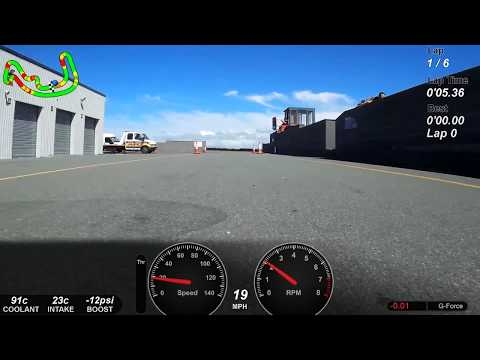 6 fastest laps @ Anglesey Coastal 18/05/2017 supercharged