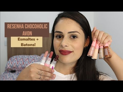 Resenha Coleção Chocoholic Batons E Esmaltes Color Trend Avon