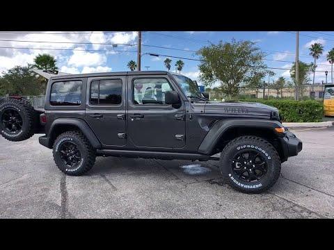2020 Jeep Wrangler Unlimited Orlando FL, Central Florida, Winter Park, Windermere, Clermont, FL L019