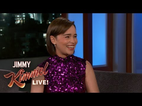 Emilia Clarke On Epic Game Of Thrones Battle, Kit Harington & Riding Dragons