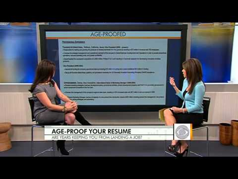 How to age-proof your resume