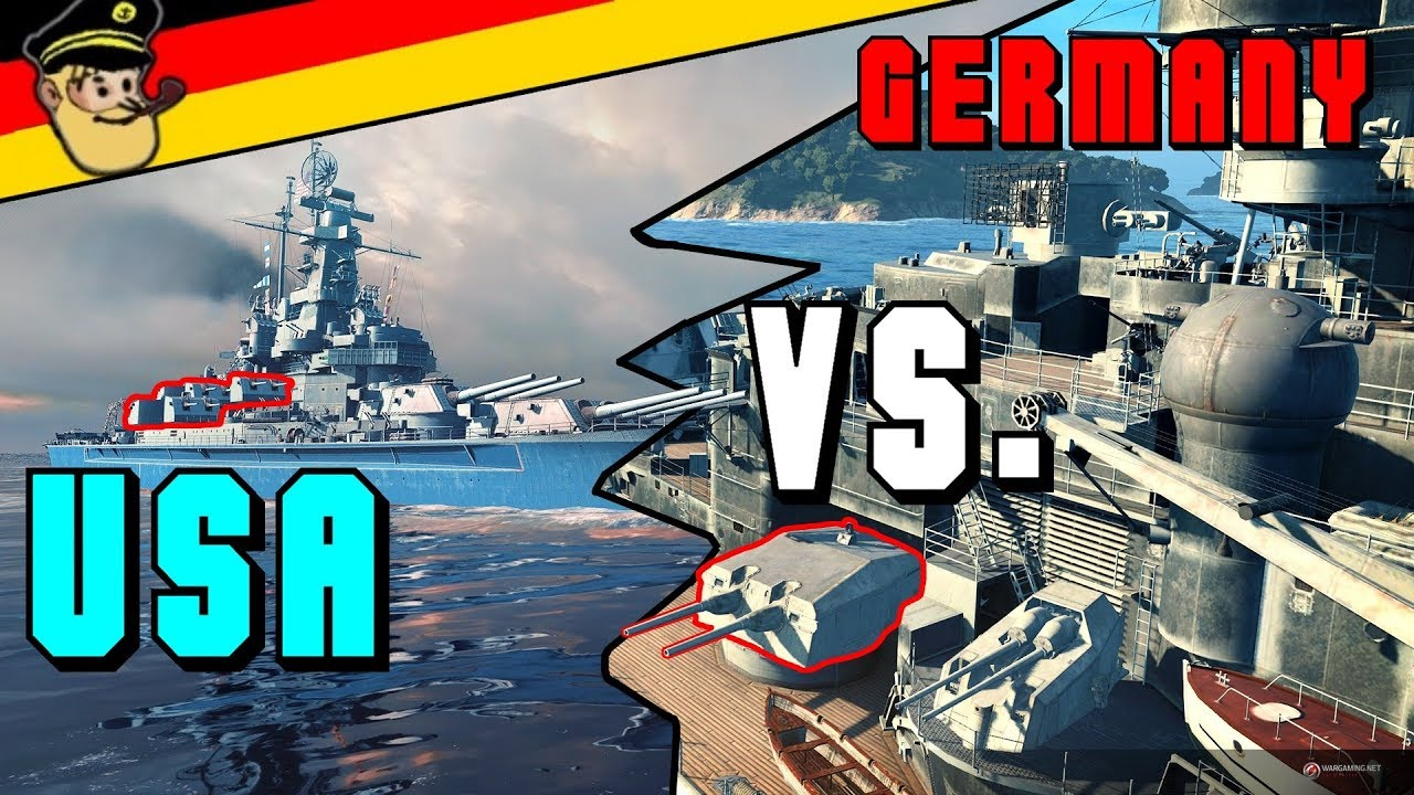 Wows Don T Chase A Bismarck Youtube