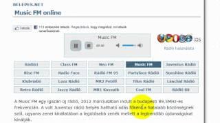 Online rádió hallgatás