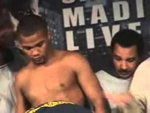 Roy Jones vs. Felix Trinidad weigh in,  January 18, 2008