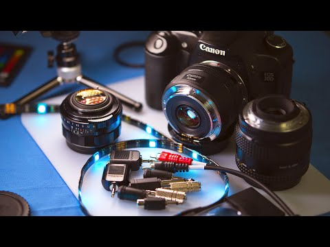 Reverse Lenses For Low Cost Macro Photography